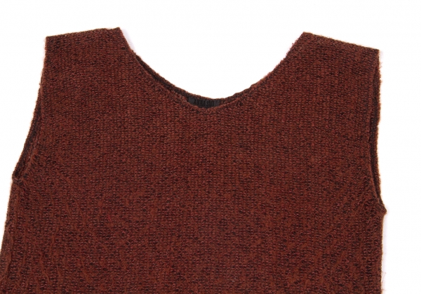 SALE-ANNA-SUI-Knit-fringe-sleeveless-Size-2-K-50765 thumbnail 3