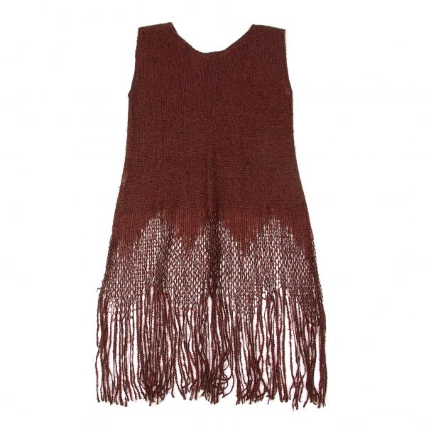 SALE-ANNA-SUI-Knit-fringe-sleeveless-Size-2-K-50765 thumbnail 8