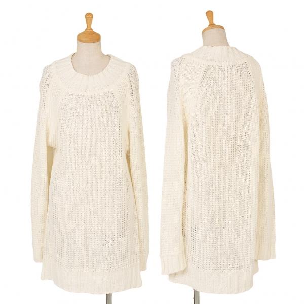 ISSEY MIYAKE Raglan Knit Sweater Size M(K-51246)