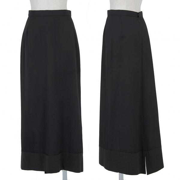 HOMMA Switch wool gabardine skirt Size SS(K-51309)