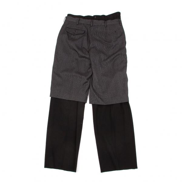 COMME DES GARCONS Capas  De Diseño Pantalones Talla M (K-51763)  wholesape barato