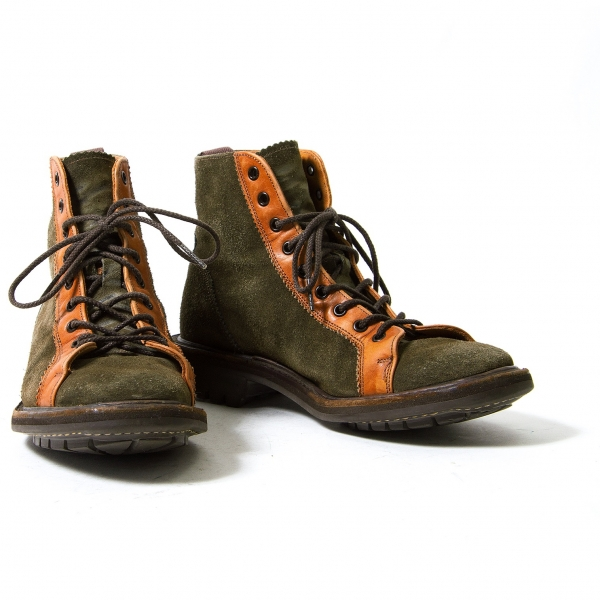 Man's/Woman's Tricker's Suede Shoes Size Around US6.5(K-52206) Queensland special function best seller