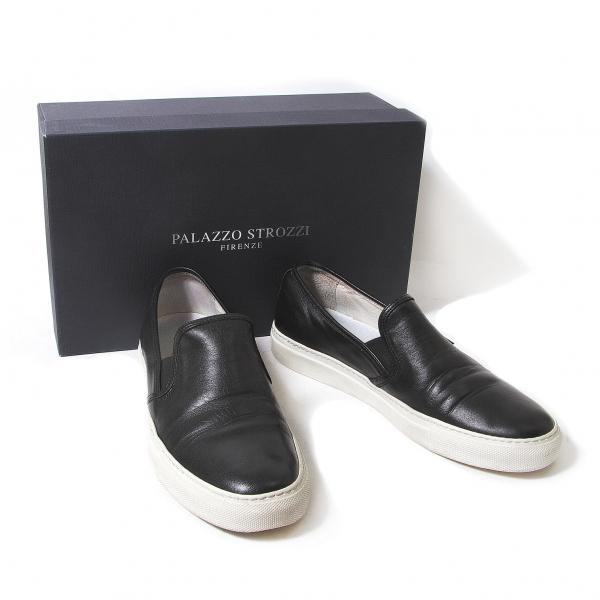 PALAZZO STROZZI Leather slippon sneakers Size 39(K-52248)