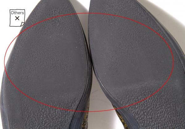 d3a3361b75e1ca ... COMME des GARCONS HOMME PLUS Crocodile slip-on slip-on slip-on shoes ...