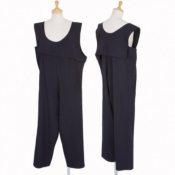 Y's Wool gabardine Jumpsuit Size S-M(K-52881)