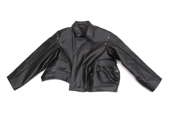 k Jacket Des Comme 52935 Fake Motorcycle Size S Garcons Leather f1wxwqF8X