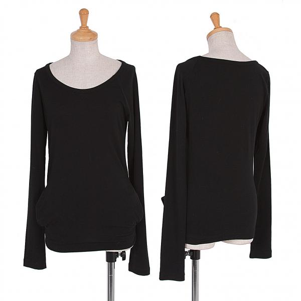 Yohji Yamamoto FEMME Raglan T Shirt Size 2(K-53022)