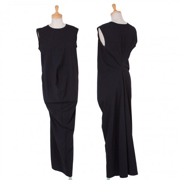 robe de chambre comme des garcons stripe dress size l k. Black Bedroom Furniture Sets. Home Design Ideas