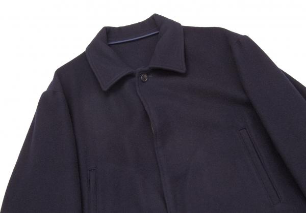 Y's Melton for Uomo Melton Y's zip switching half coat Size M K-53189  0ac779