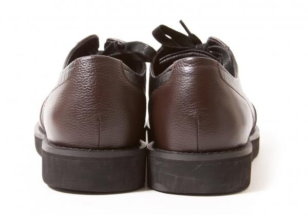 ISSEY MIYAKE MEN Leather Shoes Black