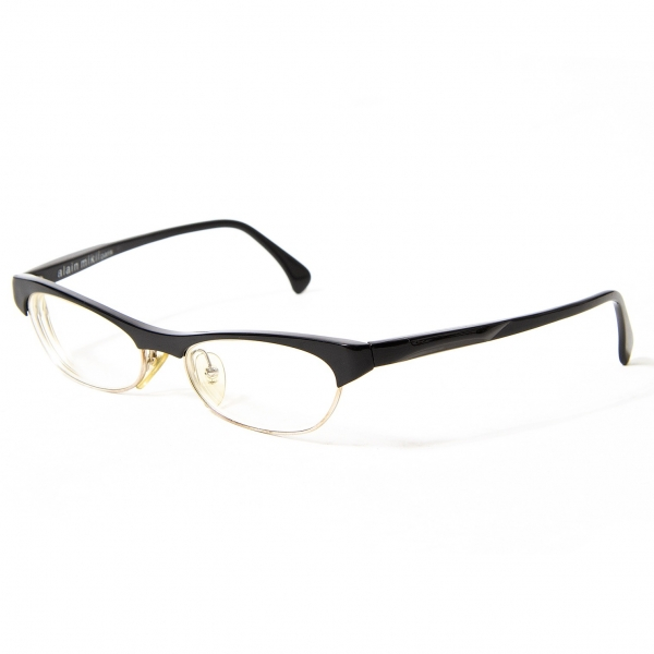 アランミクリalain mikli 2695COL0701 ブロウセルフレームメガネ 黒