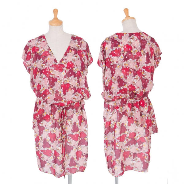 ESCADA Pattemed all over Print Dress Size 34(K-54760)
