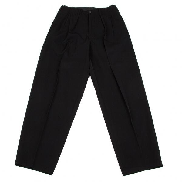 ワイズフォーメンY's for men ウールギャバタックパンツ 黒S