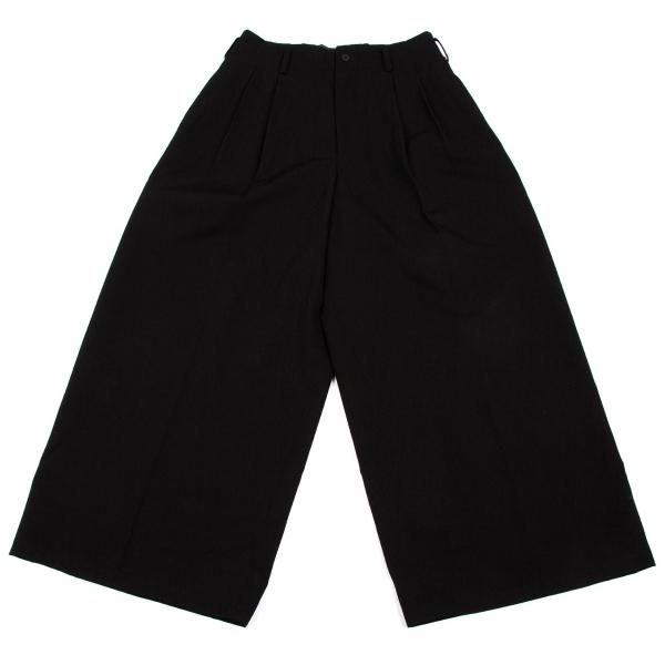 Y's Wool Gabardine Wide Pants Size S-M(K-55253)