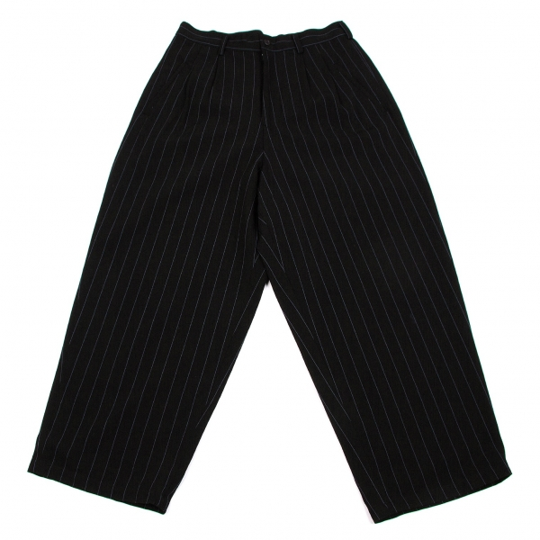 Y's Wool Stripe Pants Size S-M(K-55254)