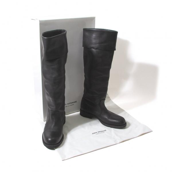 negozio online JUNYA WATANABE Leather Leather Leather Long stivali Dimensione S(US About 6.5)(K-55377)  godendo i tuoi acquisti