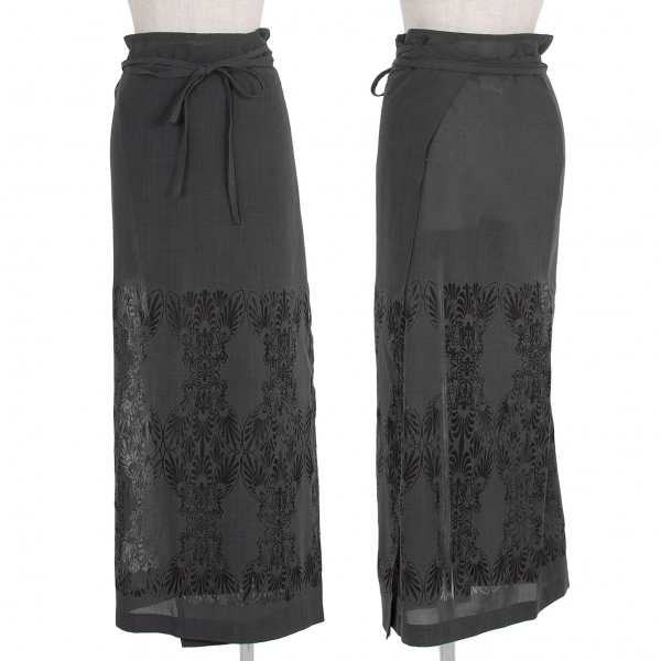 Y's See-through Design Skirt Size 3(K-55439)