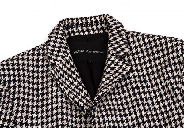 3 Masaki Size Houndstooth Matsushima 55483 Coat k q8w8Irf