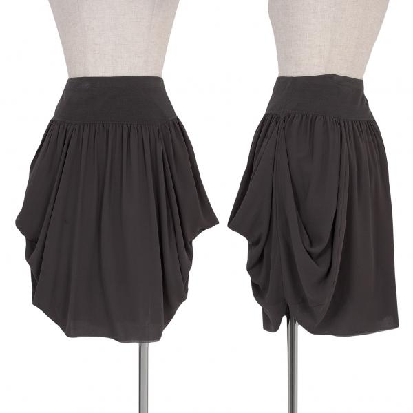 ANTEPRIMA Silk Balloon Skirt Size S-M(K-55635)
