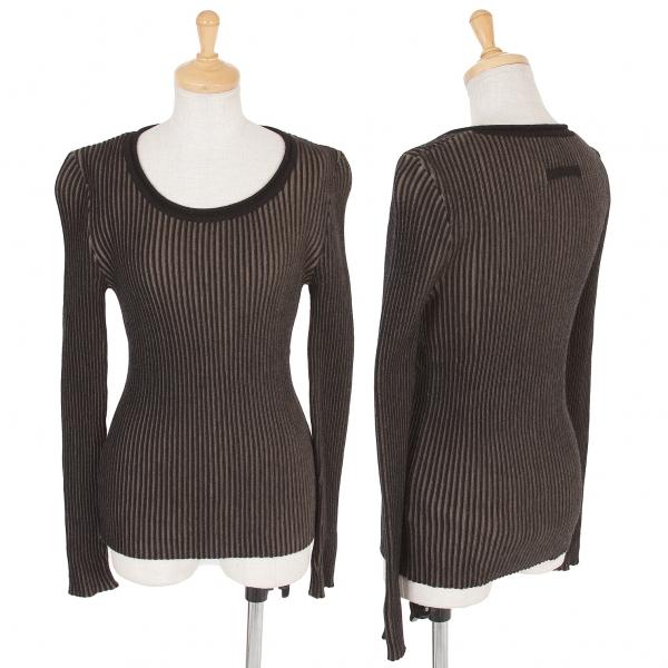 Jean-Paul GAULTIER Rib Knit Sweater Größe 40(K-55768)