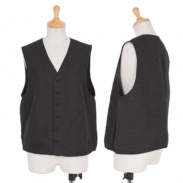 ASHA BY MDS Indian silk vest Size M(K-56297)