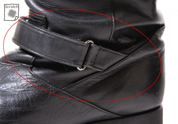 23ku Leather Boots Boots Boots Size US 7.5(K-56583) 6d48e4