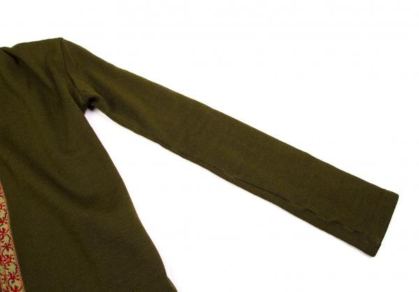 Yohji Yamamoto FEMME Tyrolean tape knit Cardigan Size 3(K-56740) 3(K-56740) 3(K-56740) 42ff68