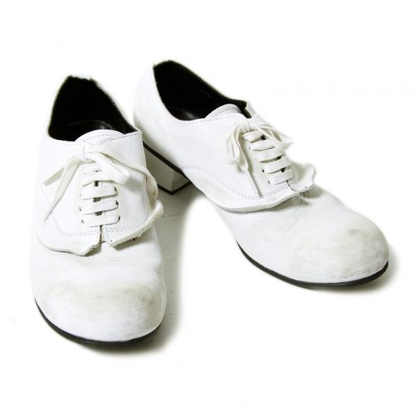 567557e10a3c Image is loading COMME-des-GARCONS-Scratch-Paint-Shoes-Size-US-