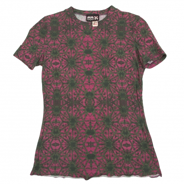 Jean-Paul  GAULTIER Estampada Camiseta Talla 40 (K-57351)  ¡No dudes! ¡Compra ahora!