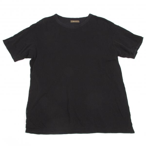 ワイズフォーメンY's for men リバーシブルメッシュTシャツ 黒M位