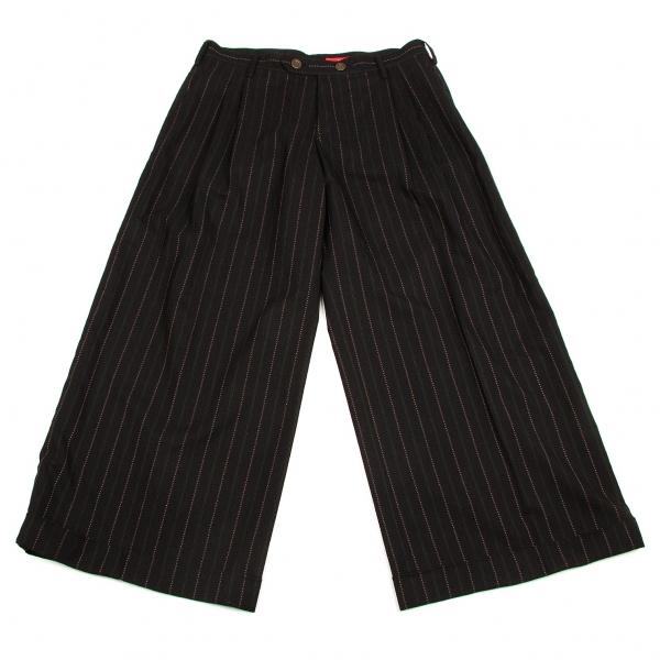 Y's Striped Wide Pants Size 4(K-57425)