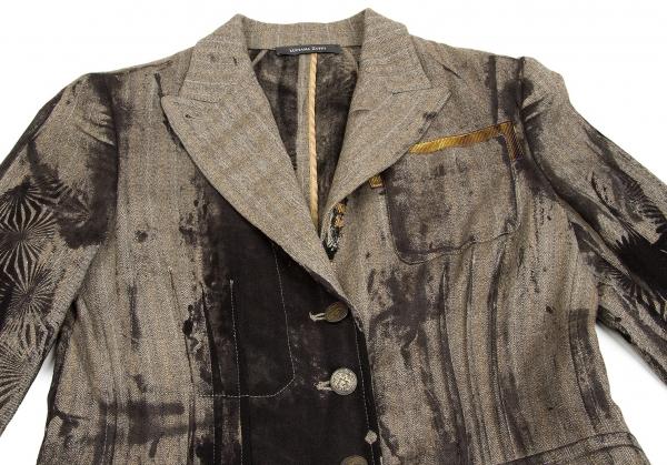 Herringbone Luciana Size Zuffi k Jacket 57636 Stripe 40 OvqzKwPv5