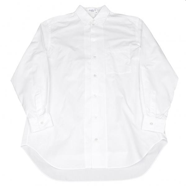 ヨウジヤマモト プールオムYohji Yamamoto POUR HOMME コットンシャツ 白M