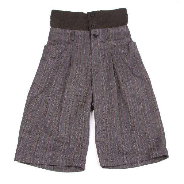 LIMI feu Layer Waist Stripe Pants Size S(K-58015)