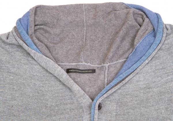 Taille k Y's 58084 Cardigan Sans 2 Manche Asymmetry xCgqv