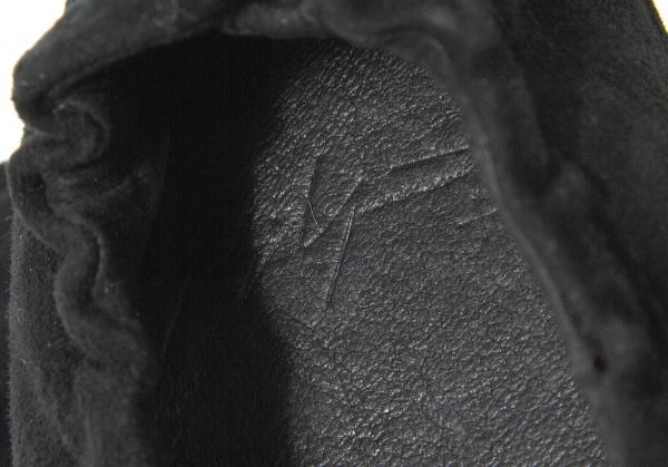 Yohji Yamamoto NOIR NOIR NOIR Suede schuhes Size About US 7(K-58103) 29cefd