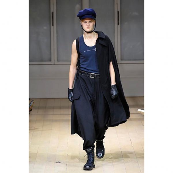 Yohji Yamamoto POUR HOMME adidas Leather Shoes Size US 12(K-58176)