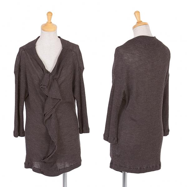 Y's Rib Knit Sweater Größe 2(K-58223)