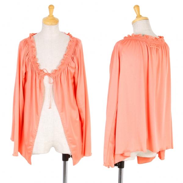 Jean-Paul GAULTIER FEMME Frill Cardigan Size 40(K-58236)