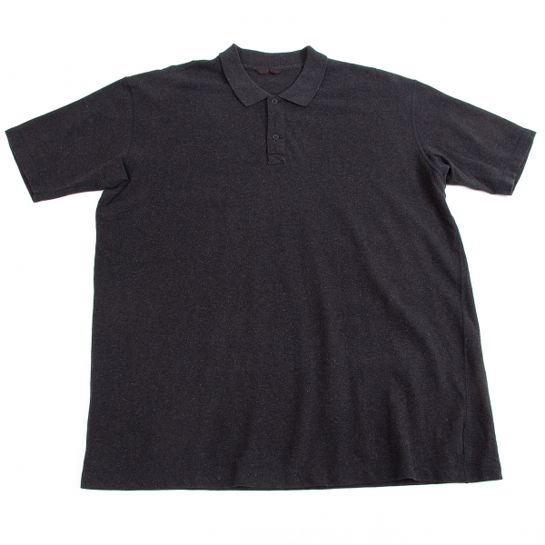 Papas Moss stitch Polo Shirt Size 52(LL)(K-58308)