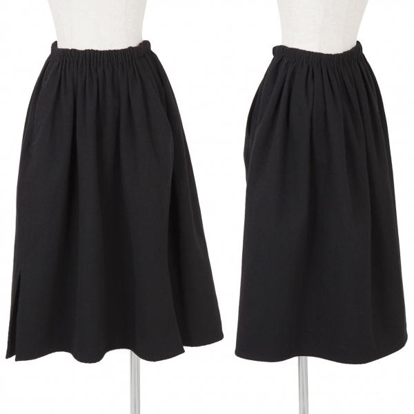 Y's Wool Nylon Skirt Size S-M(K-58335)