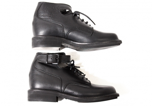 Y's Strap  Leder Stiefel Size US US Size About 7(K-59041) fca63c