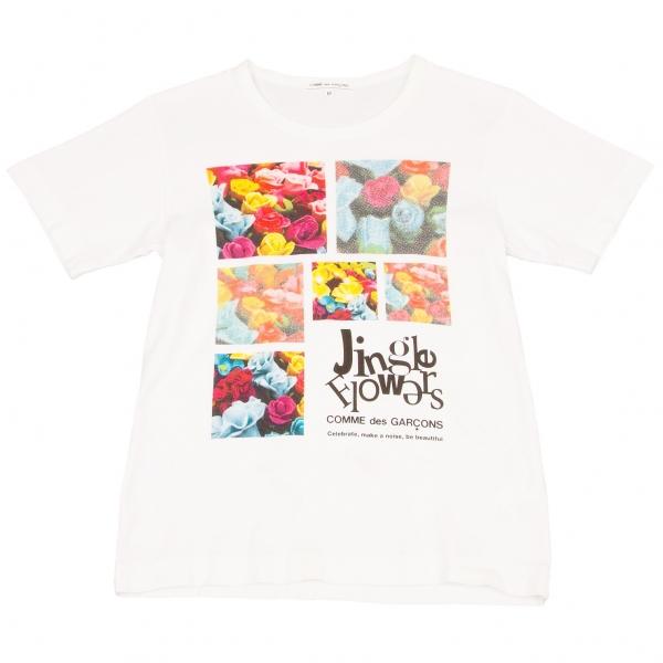 COMME des GARCONS Printed T Shirt Size M(K-59230)