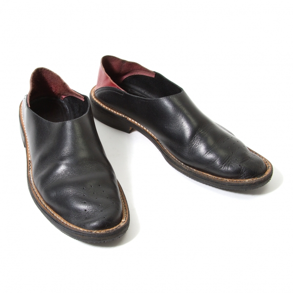 Y's Leather SLIP ON Size US About 6.5(K-59459)
