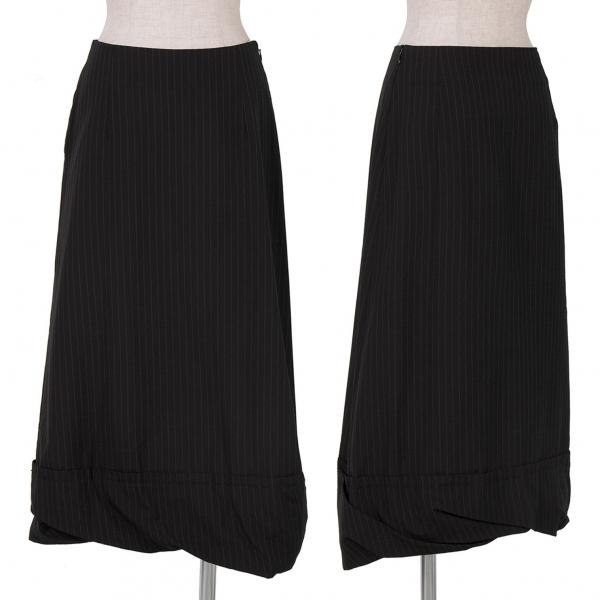 Tricot COMME des GARCONS Stripe Stitch Skirt Size S(K-59472)