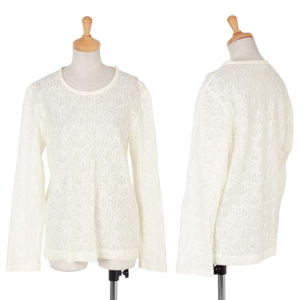 COMME des GARCONS Floral Lace T Shirt Size S-M(K-59486)