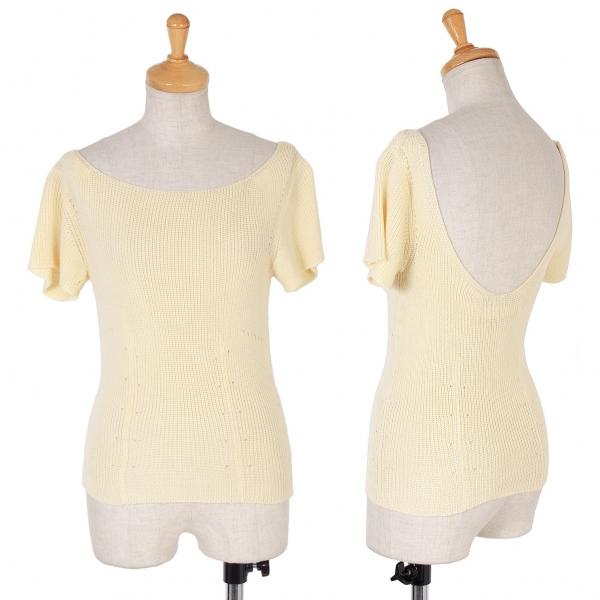 COMME des GARCONS Short Sleeves Knit Größe S-M(K-59487)