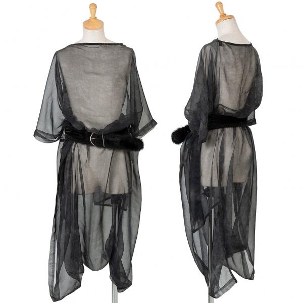 COMME des GARCONS See-through Shirt Size S-M(K-59505)
