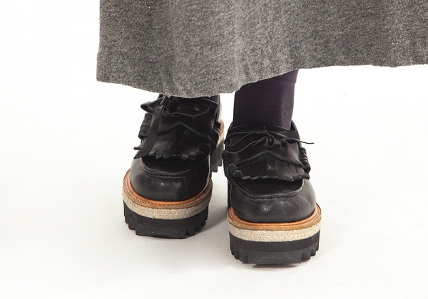 KAYO NAKAMURA by Y's Ripple sole loafers Size Size Size US About 6.5(K-59566) 548098