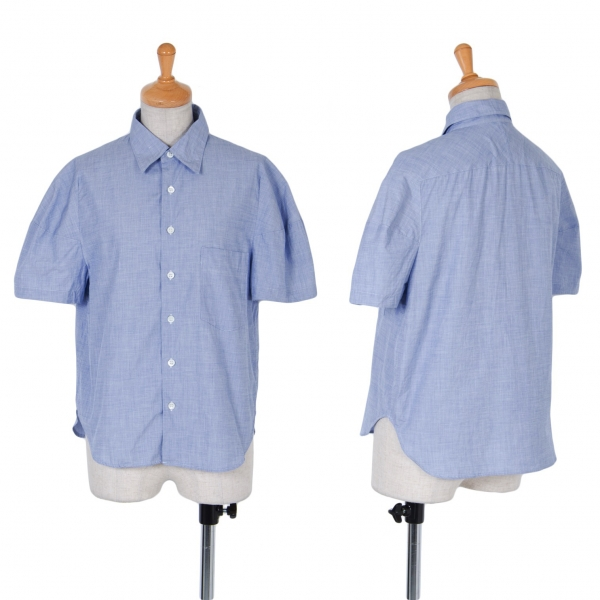 Tricot COMME des GARCONS Cotton Short Sleeve Shirt Size S-M(K-59724)